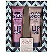 Ashden & Co by Mad Lip Gloss Duo Gift Set