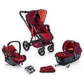 Concord Wanderer Travel Set (Lava Red)