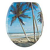 Wenko Palm Beach Toilet Seat