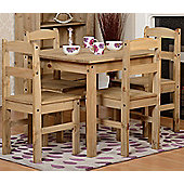 Home Essence Stanley Mexican 5 Piece Dining Set