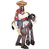 Adult Hey Amigo Mexican With Donkey Costume