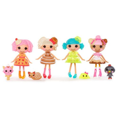 Mini Lalaloopsy 4-Pack - Set 1