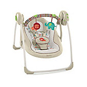Bright Starts Comfort & Harmony Cozy Kingdom Portable Baby Swing