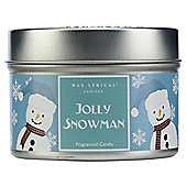 Wax Lyrical Jolly Snowman Tin Candle