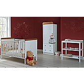 Disney Winnie the Pooh 3 Piece Furniture Set - White