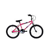 "Ndecent Flier Pink 20"" Freestyle Bmx"