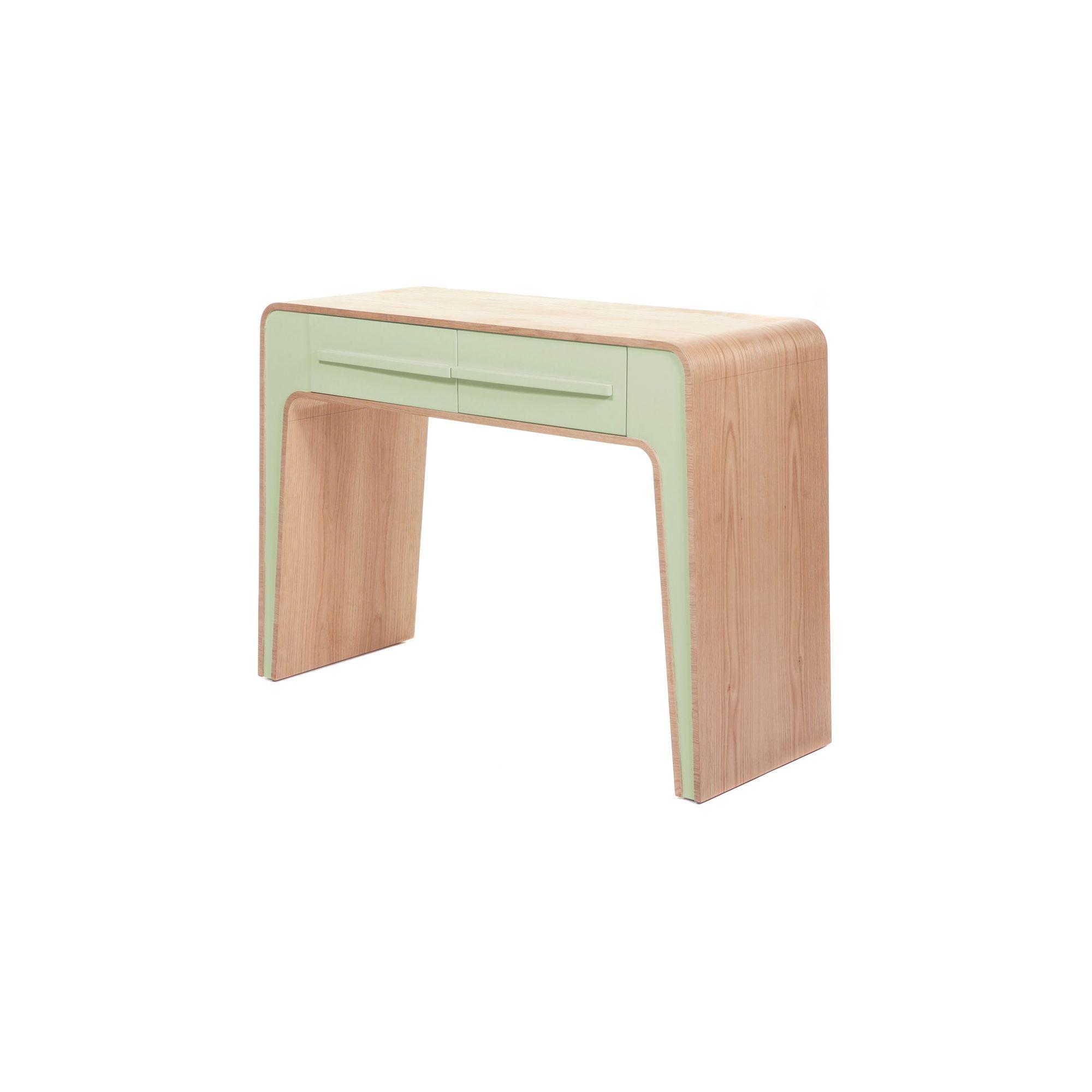 Stil Furniture Kontur Oak Console Table