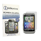 S-Protect Anti Glare LCD Screen Protector & Cleaning Cloth - HTC WildFire S