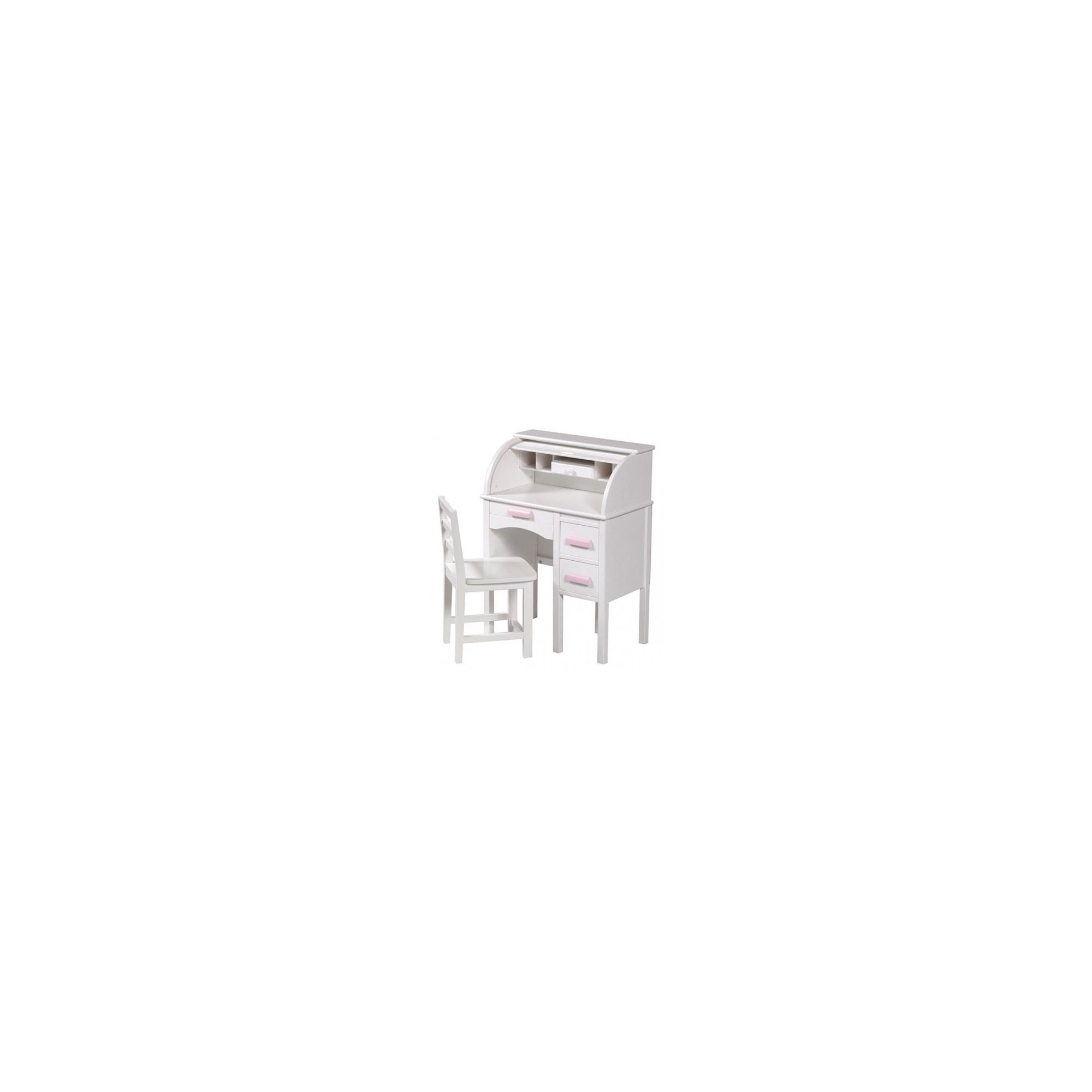 Guidecraft Jr. Roll - Top Desk Set in White at Tesco Direct