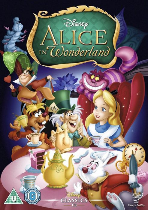 Alice In Wonderland - Disney DVD