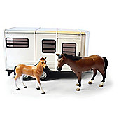 Horse/T.Ler With Horse & Foal- Scale 1:16 - Britains Farm