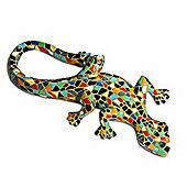 Harlequin Mosaic Resin Lizard Garden Ornament