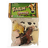 "Farm Animals 6 Pack of 4"" Figures"