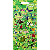 Stickers Prismatic Creepy Crawlies (each)