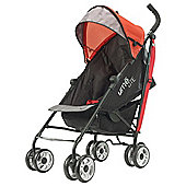 Summer Infant UME Lite Stroller, Black & Red