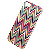 "Tortoiseâ""¢ Hard Protective Case, iPhone 5/5S,Chevron design, Multi coloured."