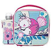 Smash Robin Lunch Bag and Water Bottle Set