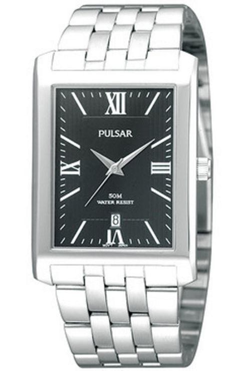 Pulsar Ladies Stainless Steel Bracelet Watch PXDB69X1