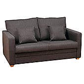 Kyoto Marlow 2 Seater Sofa Bed - Louisa Chocolate