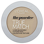 L'Oréal True Match Powder W1 Golden Ivory 9g