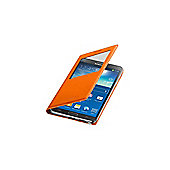 Galaxy Note 3 S-View Cover Wild Orange