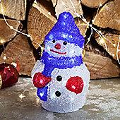 Battery Light Up Snowman LED Christmas Figure