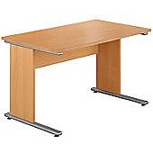 Urban 1180 Home Office Workstation in Beech