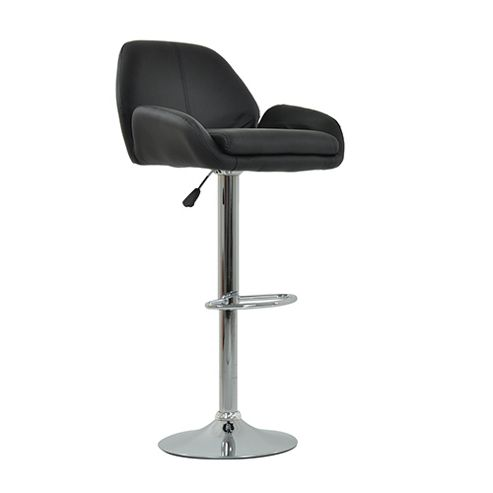 buy club black bar stool from our bar tables stools. Black Bedroom Furniture Sets. Home Design Ideas
