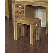 Ametis Santana Blonde Oak Dressing Table Stool