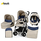 Hauck Condor All In One Pushchair Almond/Jeans