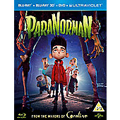 Paranorman (Blu-ray, DVD & UV)
