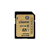 Kingston Ultimate 32GB SDHC Memory Card