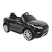 Kids Electric Car Range Rover Evoque 12 Volt Black Gloss