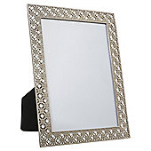 Tesco Diamante Photo Frame Bronze 5 x 7""