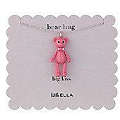 Little Ella Children's Bear Hug Necklace