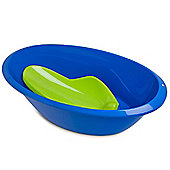 LUMA Blue Baby Bath and Green Bath Support