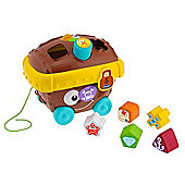 Chicco Pull Along Shape Sorter (Pirate Chest)