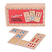 Bigjigs Toys BJ784 Traditional Wooden Dominoes