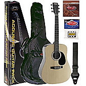 STAGG ACOUSTIC GUITAR PACK NATURAL
