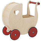 Moover Wooden Mini Dolls Pram (Natural)