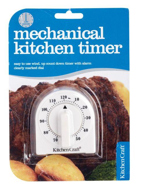 Kitchen Craft Wind Up Timer 120Min