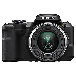 Fuji S8650 Digital Bridge Camera, Black, 16MP, 36x Optical Zoom