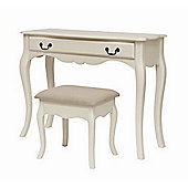 Home Zone Chantilly Dressing Table Set (4 Pieces)