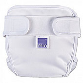 Bambino Mio Miosoft Nappy Cover - Small (White)