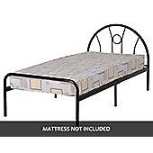 ValuFurniture Nova 3 0 inch Single Bed in Black