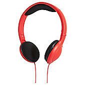 Hudl Kids' headphones, Red