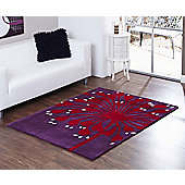 Ultimate Rug Co Aspire Amur Rug - 150 cm x 240 cm (4 ft 11 in x 7 ft 10.5 in)