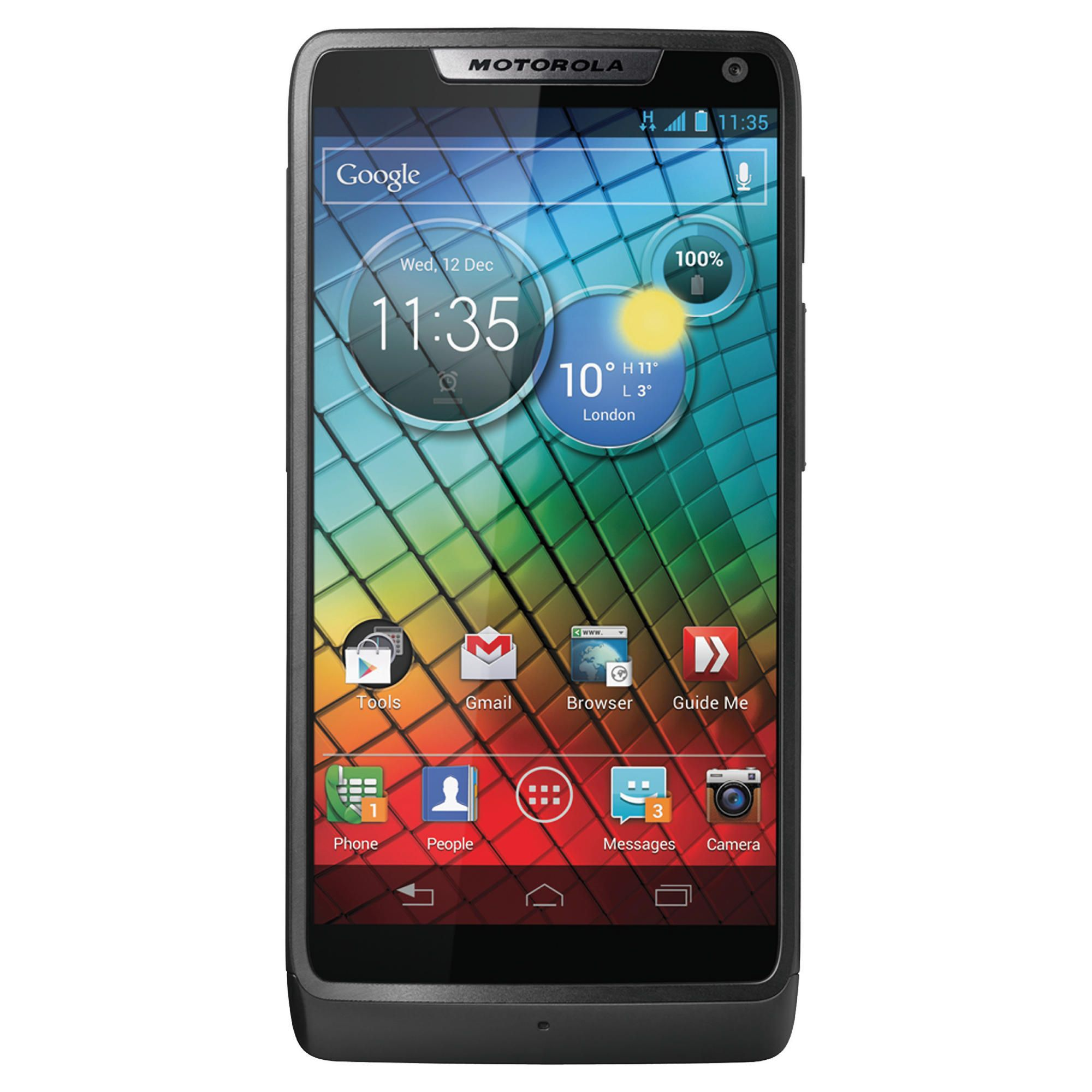 Tesco Mobile Motorola Razr™ i Black at Tesco Direct