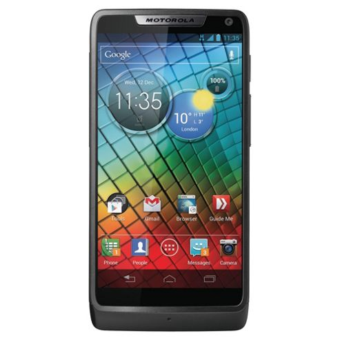 Tesco Mobile Motorola Razr™ i Black