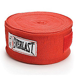 """""""Everlast Boxing Hand Wraps - 180"""""""" Red"""""""